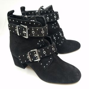Rebecca Minkoff Studded Strappy Ankle Booties